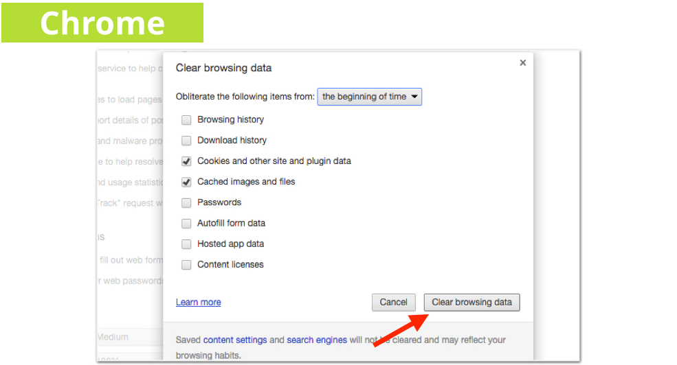 EZ Guide to Clearing your Cookies and Cache Images.005